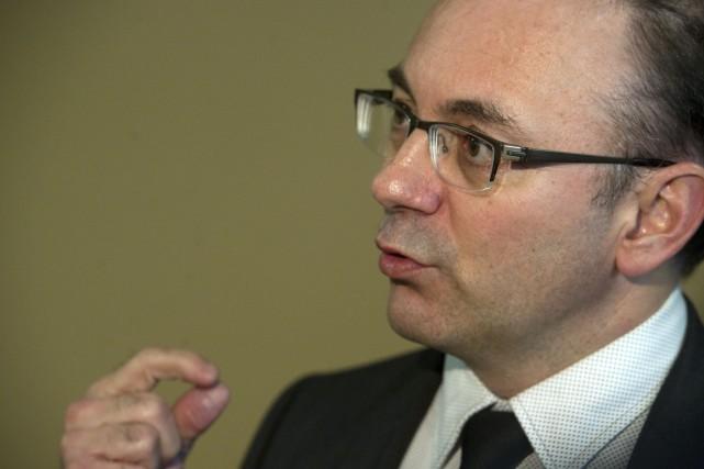 Le porte-parole de la Coalition, Yvon Boivin.... (Photo: Stéphane Lessard)