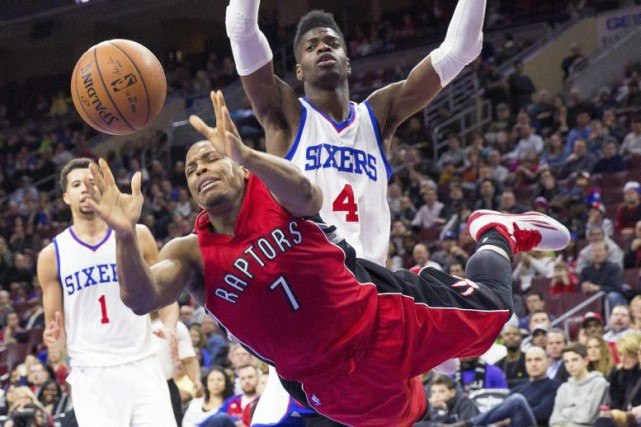 Jouant dans sa ville natale, Lowry a aussi... (Photo USA Today Sports)