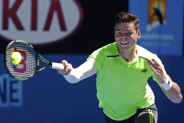 Le prochain rival de Milos Raonic sera Feliciano... (Photo Reuters)