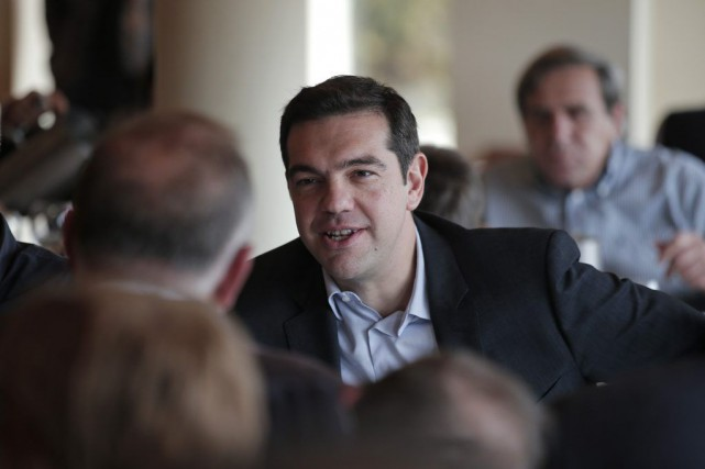 Dans le camp d'Alexis Tsipras, on mise sur... (PHOTO LEFTERIS PITARAKIS, AP)