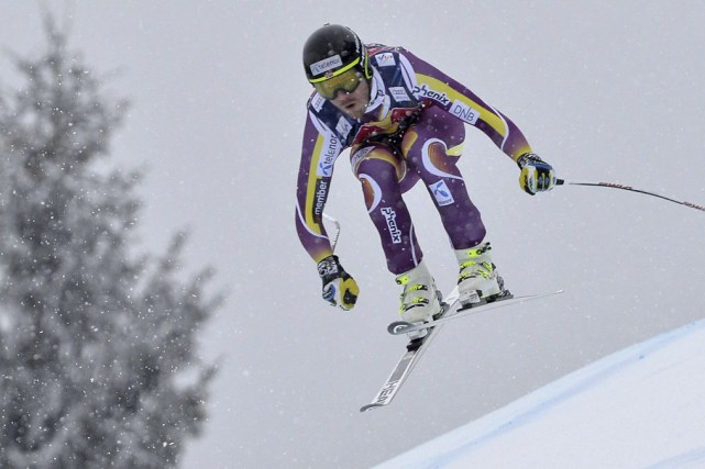 Kjetil Jansrud... (PHOTO SAMUEL KUBANI, AFP)