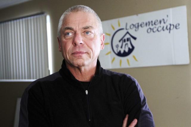 Le coordonnateur de Logemen'occupe, François Roy.... (Étienne Ranger, Archives LeDroit)