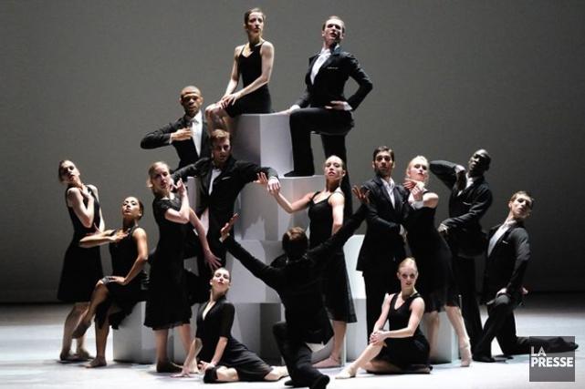 Le programme proposé par Ballet BC au Théâtre... (Photo fournie par le Ballet BC, Archives La Presse)