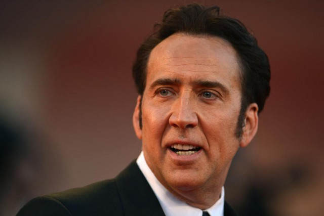 Nicolas Cage... (Photo Archives AFP)