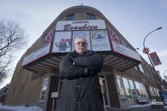 Le directeur général du cinéma Beaubien,Mario Fortin, est... (PHOTO IVANOH DEMERS, LA PRESSE)