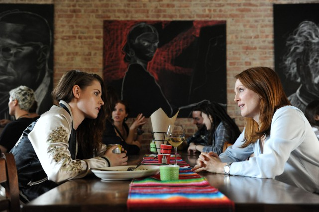 Kristen Stewart et Julianne Moore dans Still Alice.... (Photo Media Films)
