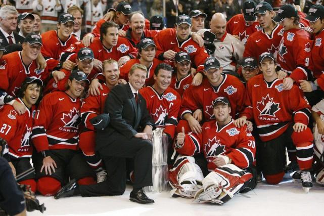 L'équipe canadienne a remporté la dernière Coupe du... (Photo Adrian Wyld, archives PC)