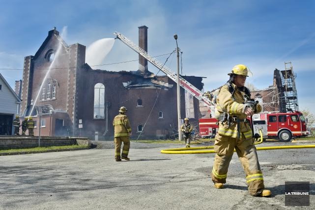 Le reportage de l'émission Enquête sur les défaillances des services incendie... (Archives, La Tribune)