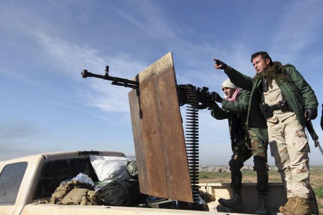 Les militaires américains ne cherchent pas à faire pression sur l'Irak afin... (PHOTO AZAD LASHKARI, REUTERS)