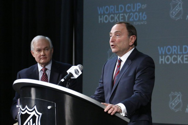 Gary Bettman... (PHOTO GENE J. PUSKAR, AP)