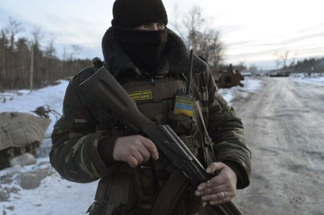 Le président ukrainien Petro Porochenko a dénoncé un... (Photo Oleksandr Klymenko, Reuters)