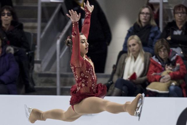 Gabrielle Daleman... (Photo Paul Chiasson, La Presse Canadienne)