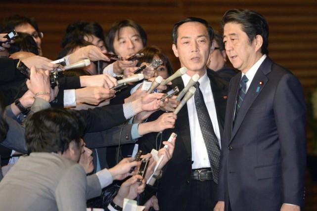 «Nous allons continuer de combattre le terrorisme au... (Photo Kyodo News, AFP)