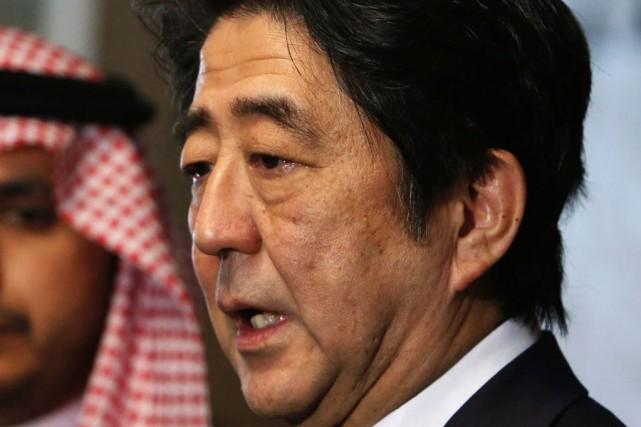 Le premier ministre japonais, Shinzo Abe.... (PHOTO YUYA SHINO, REUTERS)