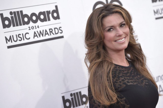 Shania Twain... (Photo: archives La Presse Canadienne)