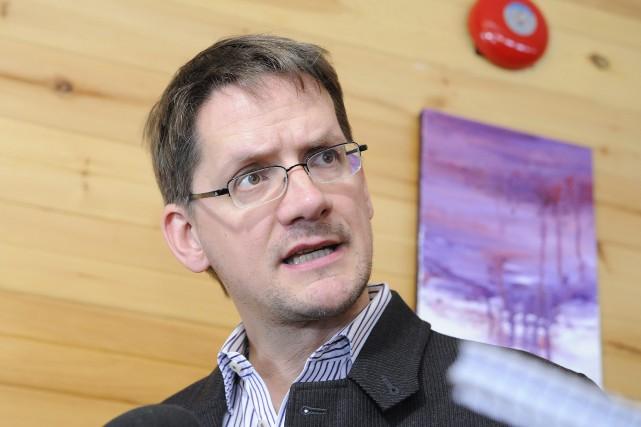 Le député de Jonquière, Sylvain Gaudreault.... ((Photo Gimmy Desbiens))
