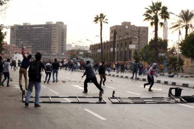 Quatre ans après le soulèvement populaire, la parenthèse... (Photo ASMAA WAGUIH, Reuters)