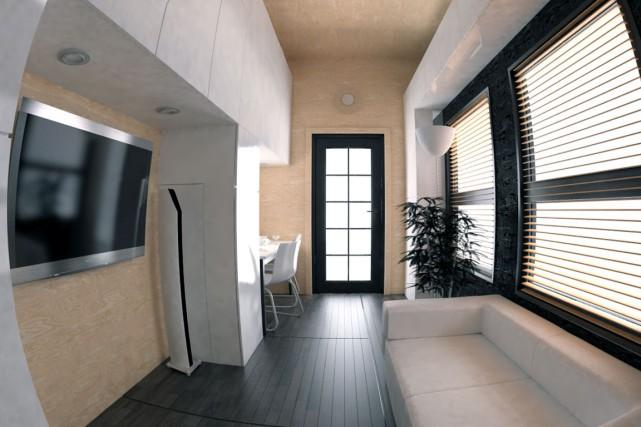 L'acheteur peut déplacer les meubles, changer certaines couleurs... (Image fournie par Minimaliste)