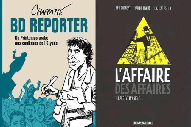 Le journalisme en bande dessinée a fait du chemin depuis Hergé. Le célèbre...