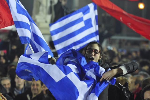 La victoire du parti Syriza a surpris par... (Photo: AP)