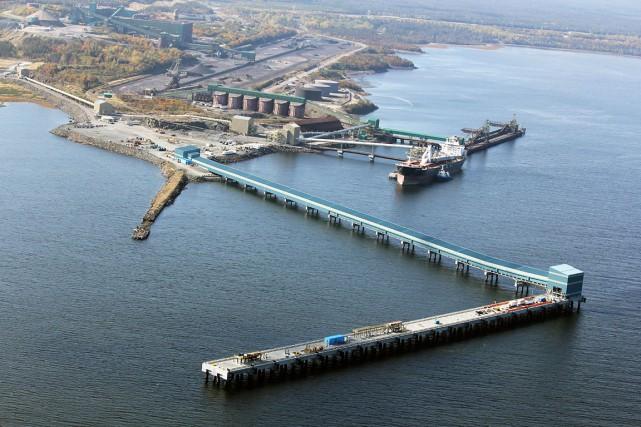 La construction du quai multiusager est terminée à... (Photo fournie par le Port de Sept-Îles)