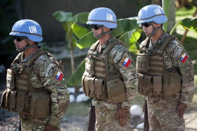 En octobre 2014, le Conseil de sécurité de... (Photo: AFP)