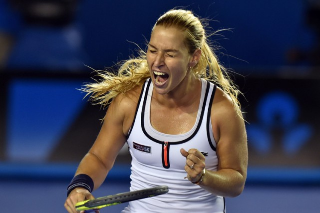 Dominika Cibulkova... (Photo: AFP)