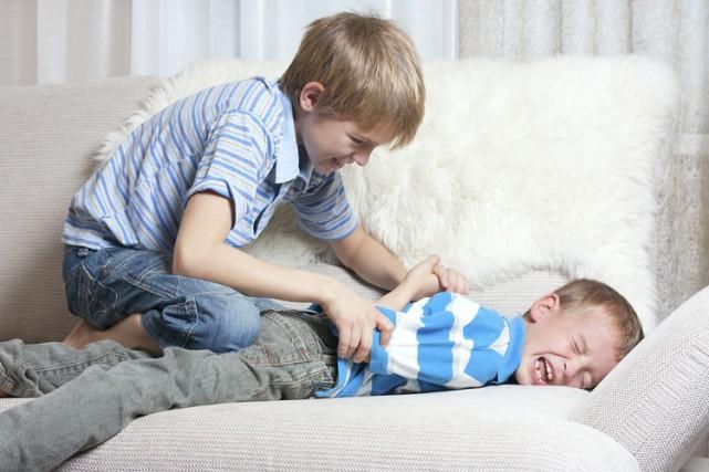 Les jeunes victimes de l'intimidation d'un frère ou... (PHOTO THINKSTOCK)