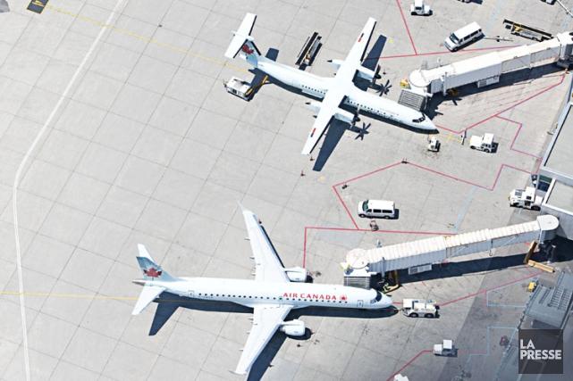 Selon Air Canada, le système biométrique Morpho «remplace... (PHOTO FRANÇOIS ROY, ARCHIVES LA PRESSE)
