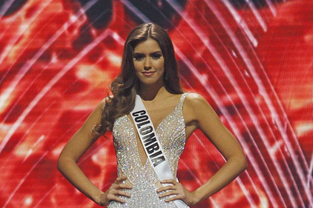 Paulina Vega... (Photo: Reuters)