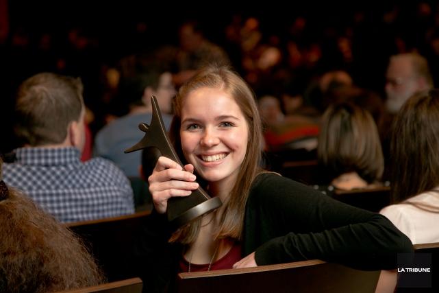 Valérie St-Amant conjugue avec brio sa réussite scolaire... (Imacom, René Marquis)