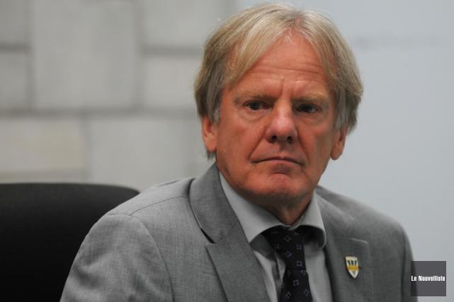 Gilles Charland, ancien vice-recteur par intérim de l'UQTR.... (Photo: François Gervais, Le Nouvelliste)