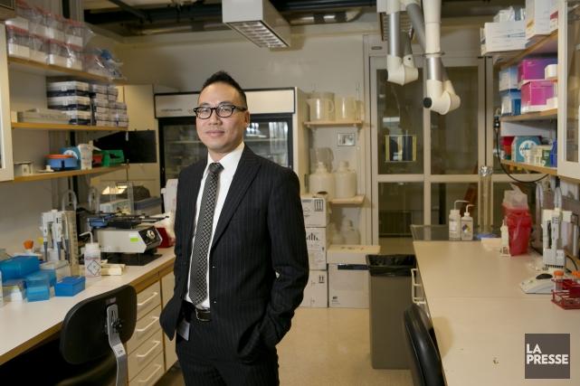 Anthony Cheung, président d'EnGene, a déménagé son entreprise... (PHOTO HUGO-SÉBASTIEN AUBERT, ARCHIVES LA PRESSE)