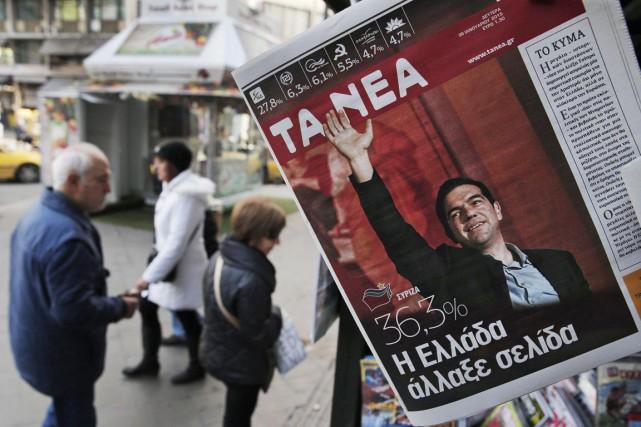Le scrutin grec intervient dans un contexte déjà... (PHOTO LEFTERIS PITARAKIS, AP)