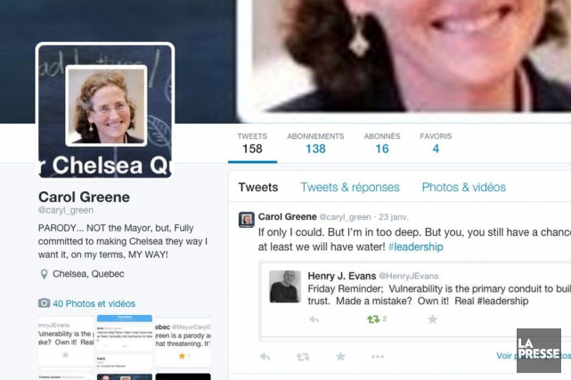 Un compte Twitter parodique a récemment été créé... (Capture d'écran)