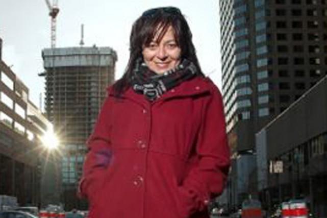 La journaliste Linda Corbo présente un quatrième épisode... (Photo: Sarah Maude)