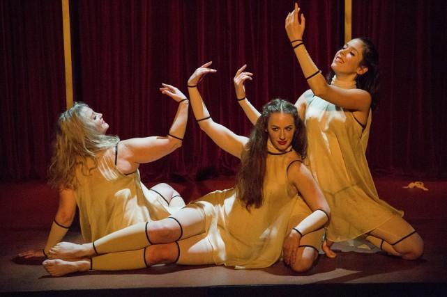 Le spectacle est composé de neuf tableaux qui... (PHOTO CATHERINE ASSELIN-BOULANGER, FOURNIE PAR ESPACE LIBRE)