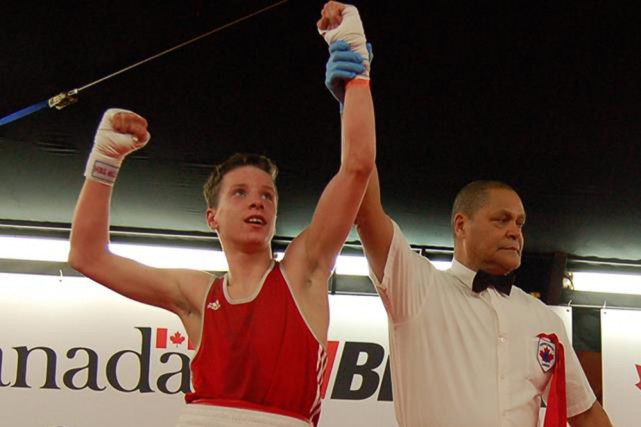 Daylen Pepin... (Photo: Boxe Canada)