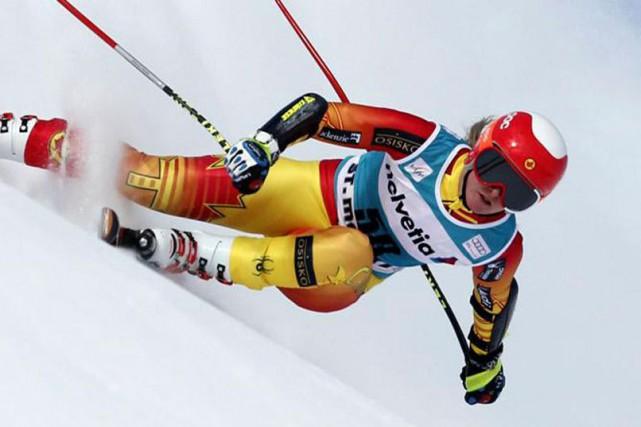 La skieuse alpine de St-Isidore, Valérie Grenier, a... (Site web d'Alpine Canada)