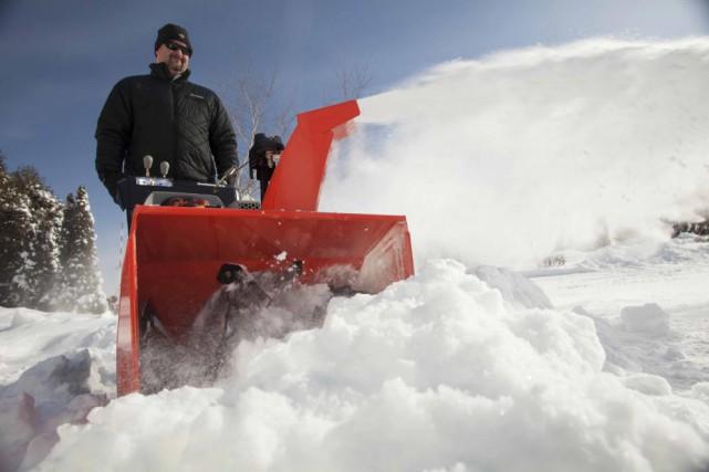 La semaine dernière, les amateurs de ski et de raquettes ont été comblés tout... (Ariens)