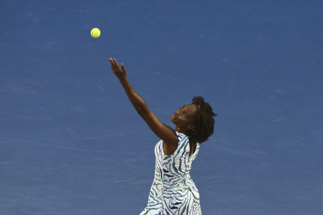Venus Williams a signé une victoire de 6-3,... (PHOTO MAL FAIRCLOUGH, AFP)