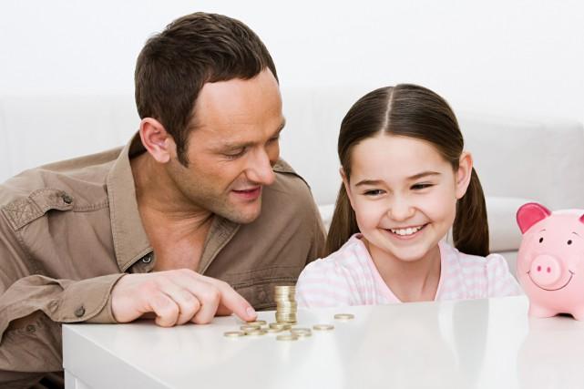 Quelle éducation financière avez-vous reçue ? Que cherchez-vous à transmettre à... (PHOTO MASTERFILE)