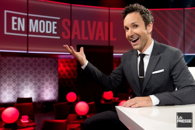 Éric Salvail... (PHOTO ALAIN ROBERGE, LA PRESSE)
