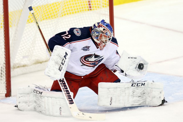 Sergei Bobrovsky... (PHOTO BRUCE FEDYCK, USA TODAY SPORTS)