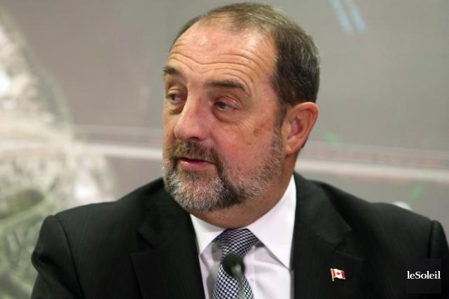 Le ministre de l'Agence de développement économique du... (Photothèque Le Soleil)