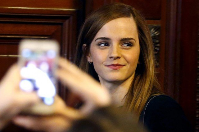 Emma Watson... (Andres Stapff, Archives Reuters)