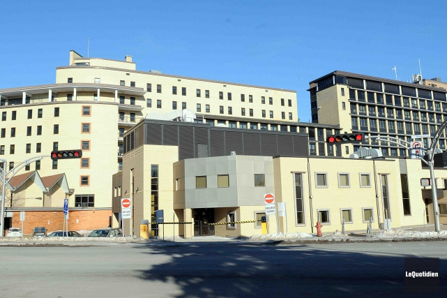 L'Hôpital de Chicoutimi est le principal centre de... ((Archives Le Quotidien))
