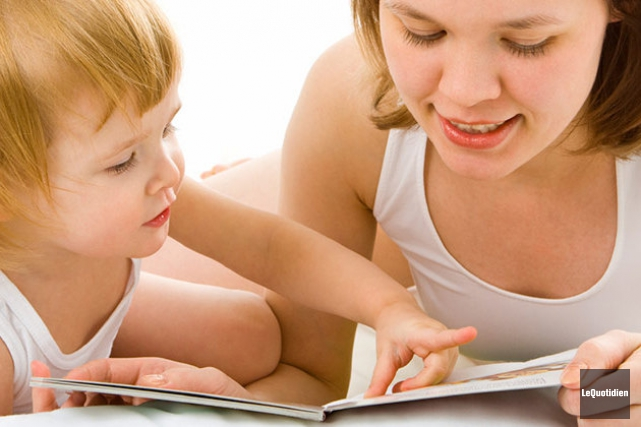À l'occasion de la Journée de l'alphabétisation familiale... ((Archives Le Quotidien))