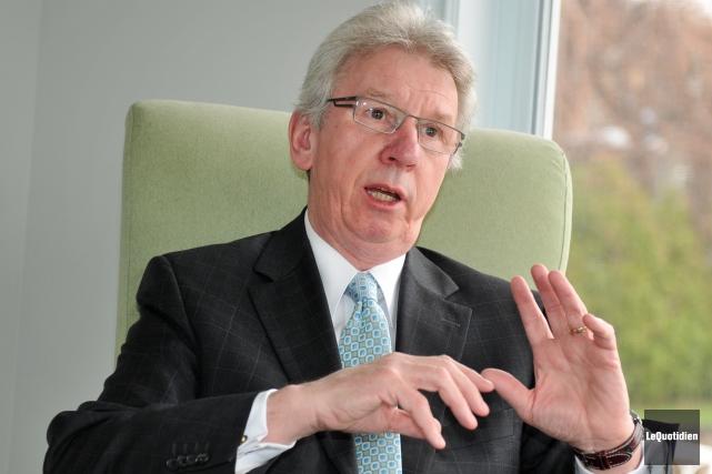 Jean-Pierre Blackburn confirme qu'il ne sera pas candidat... ((Archives Le Quotidien))