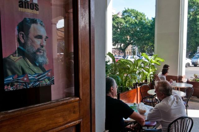 L'état de santé de Fidel Castro, qui n'est... (Photo: AFP)